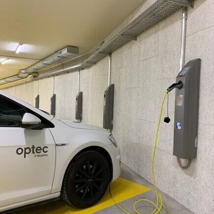Ladestation Optec mobility one